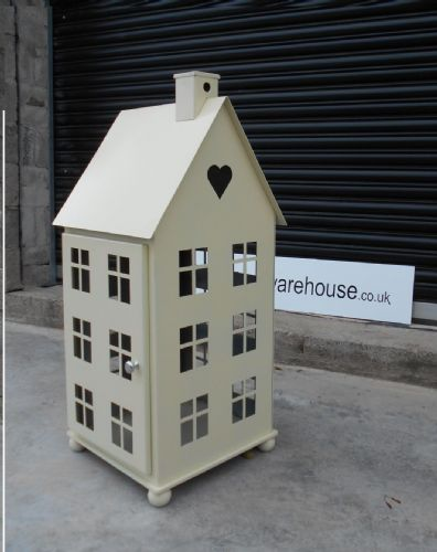 Large Cream  House Lantern